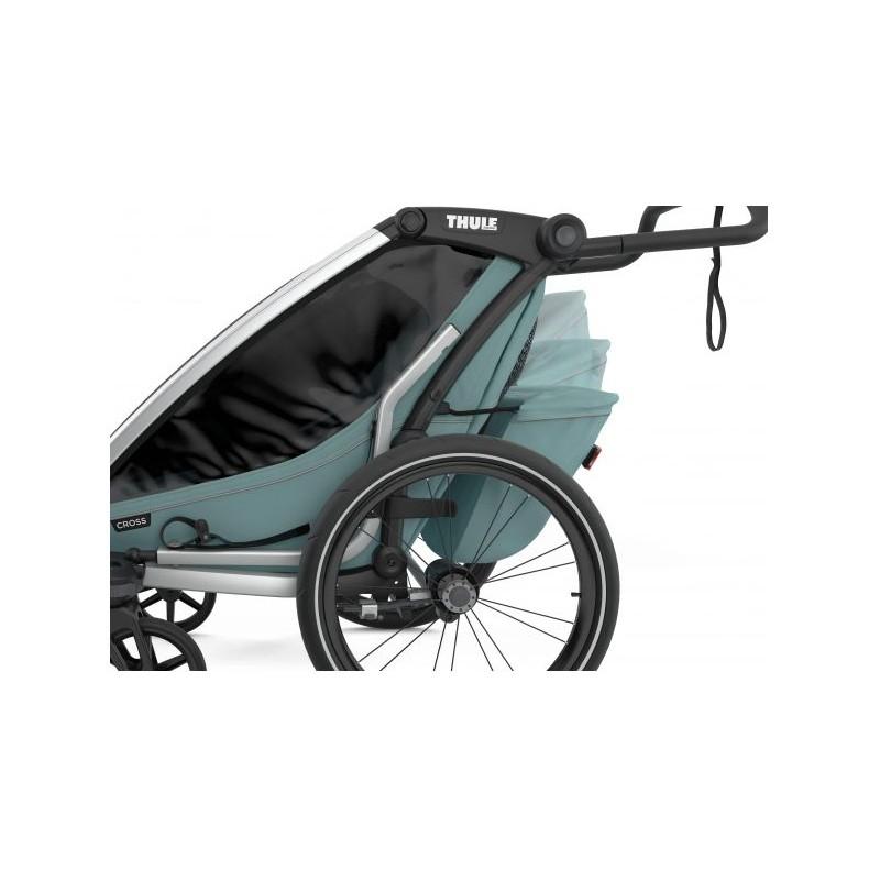 Thule Cross 1 Alaska světle modrý vozík za kolo