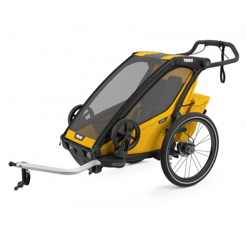 Thule Chariot Sport 1 Spectra Yellow + prachová síťka
