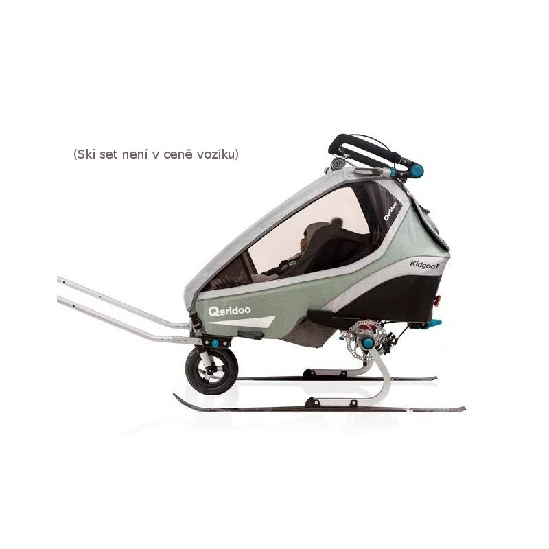Jednomístný vozík za kolo Kidgoo1 Pro - Mint 2020 - 2021