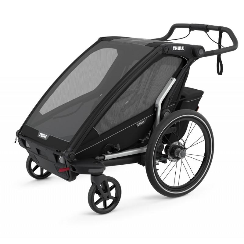 Vozík za kolo Thule Chariot Sport 2 Midnight Black