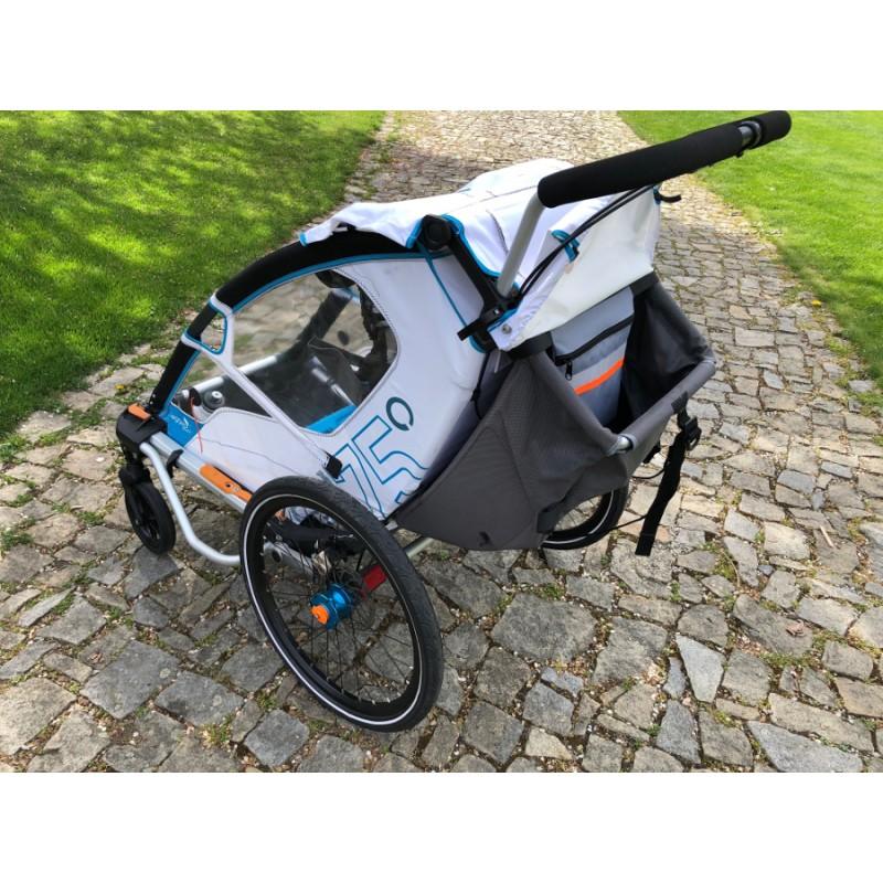 Kapsa do úložného prostoru dětského vozíku za kolo Leggero Enso