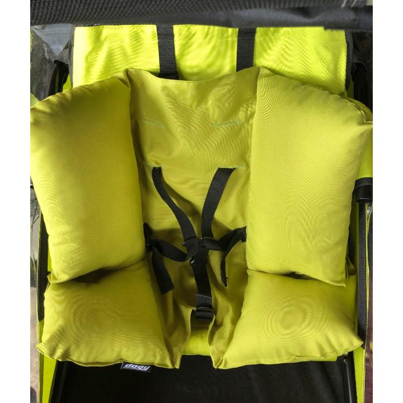 Prodloužená opora trupu pro vozík Croozer Kid 1, 737 a XLC Mono