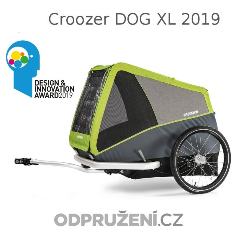 Velký cyklovozík CROOZER DOG XL 2019, zelený
