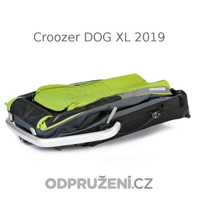 Velký cyklovozík CROOZER DOG XL 2019, složený