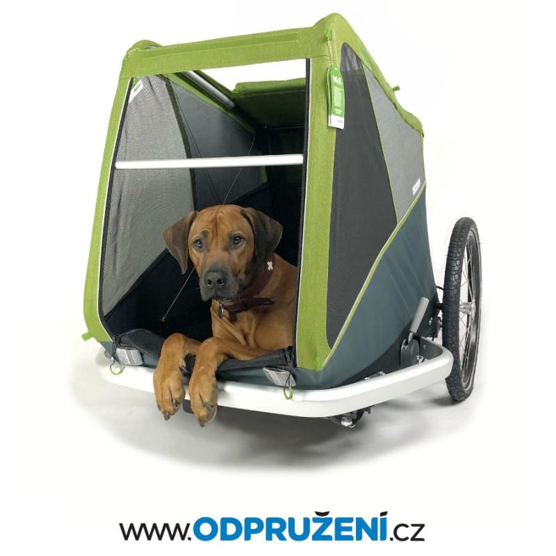 Velký cyklovozík pro psa CROOZER DOG XL 2019