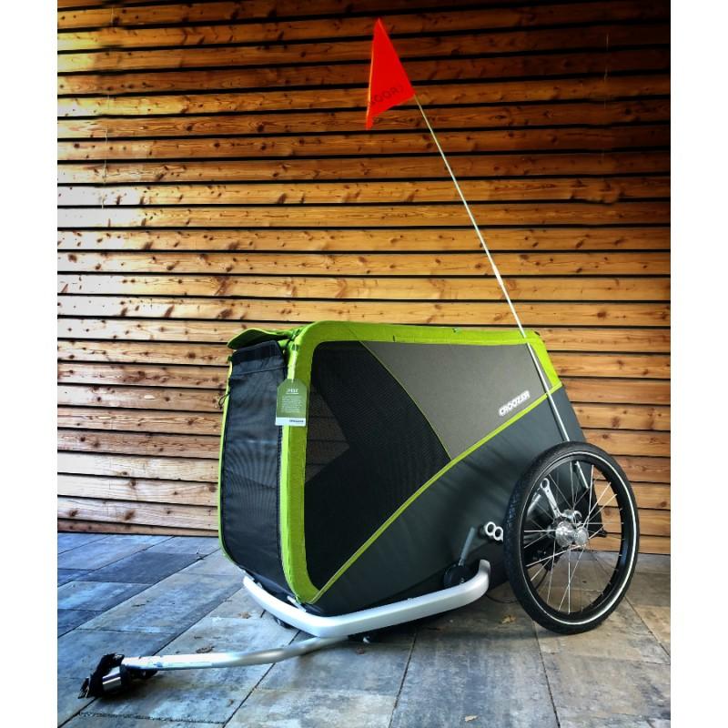 Odpružený vozík za kolo pro psy CROOZER DOG Jokke XL