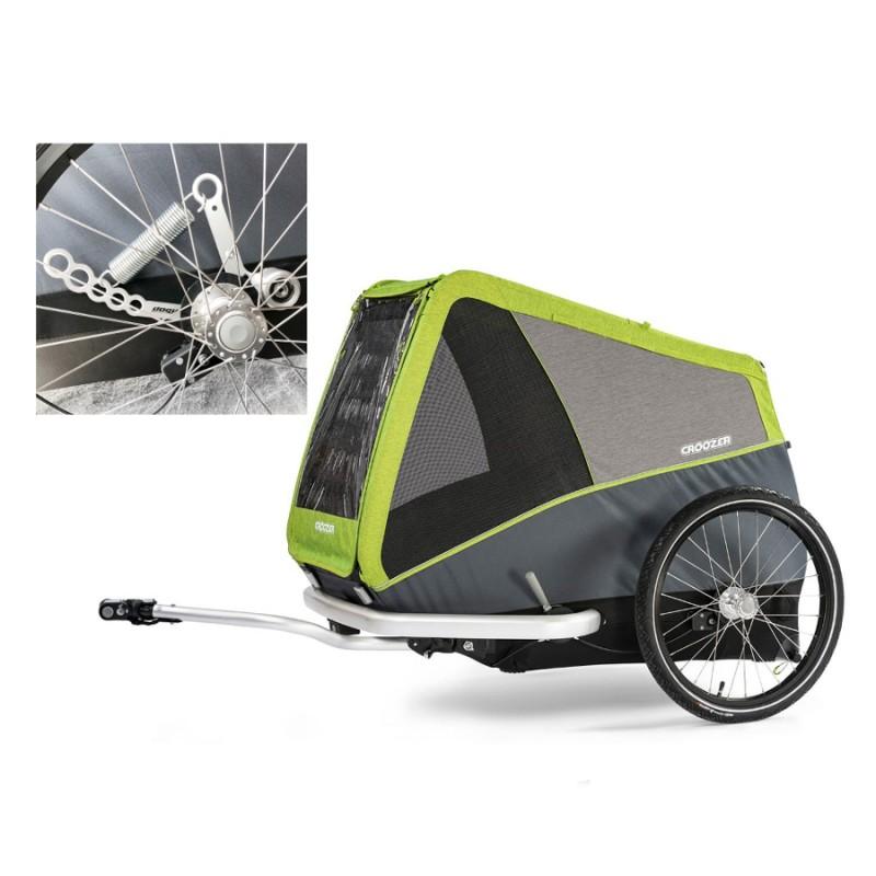 Odpružený vozík pro psy CROOZER DOG Jokke XL