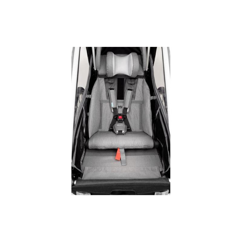 Jednomístný vozík za kolo Kidgoo1 Pro - Anthracite Grey 2020