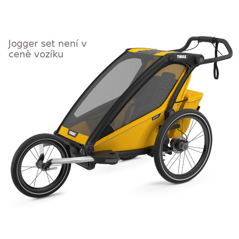 Thule Chariot Sport 1 Spectra Yellow jogger