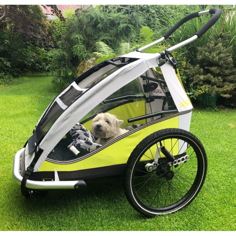 Přední síťka pro vozík za kolo pro  psa XLC by Croozer Mono