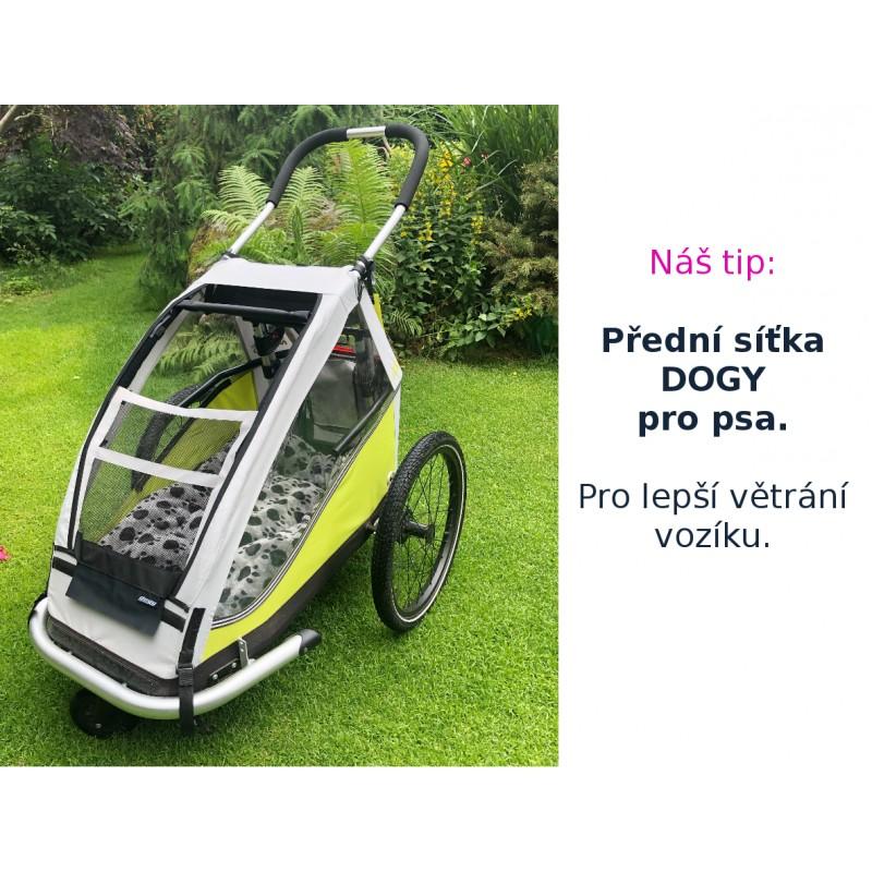 Přední větrací síťka pro vozík za kolo pro psy XLC by CROOZER