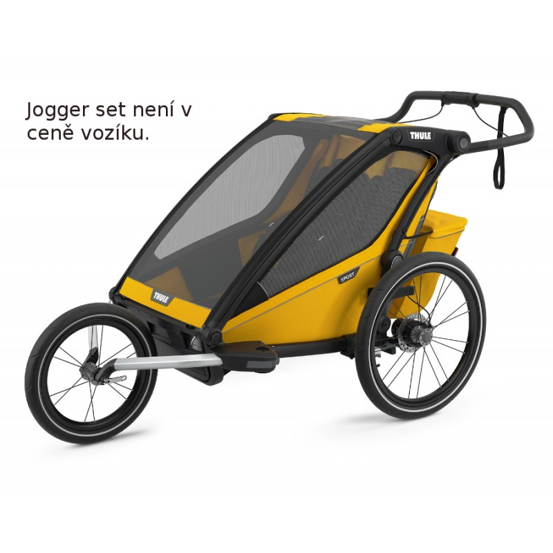 Thule Chariot Sport 2 Spectra Yellow jogger