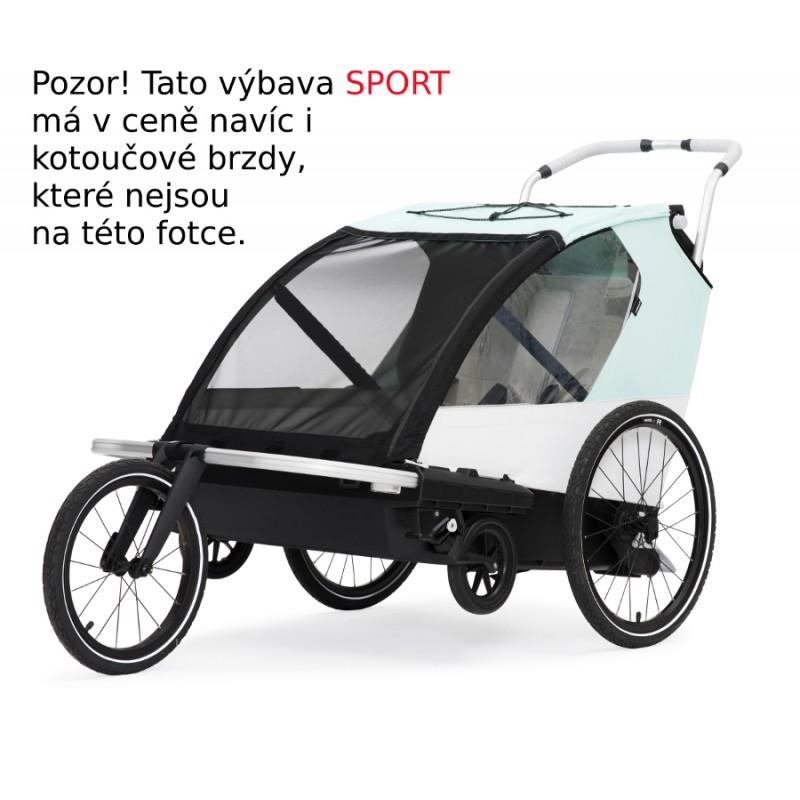 Vozík za kolo Leggero Vento Sport 2021