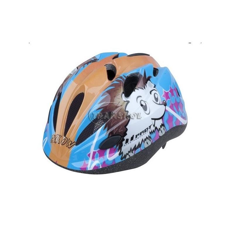 Dětská přilba modrá Pro-T Vigo Ježek S