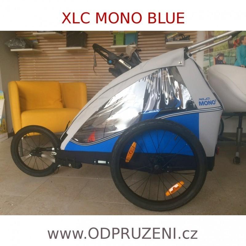 Odpružený cyklovozík XLC DUO green 2016