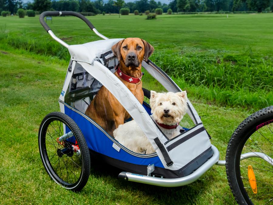 Vozík za kolo pro psy XLC Mono by Croozer