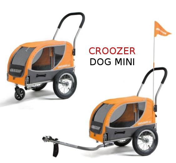 Vozík pro psy Croozer DOG Mini - půjčovna