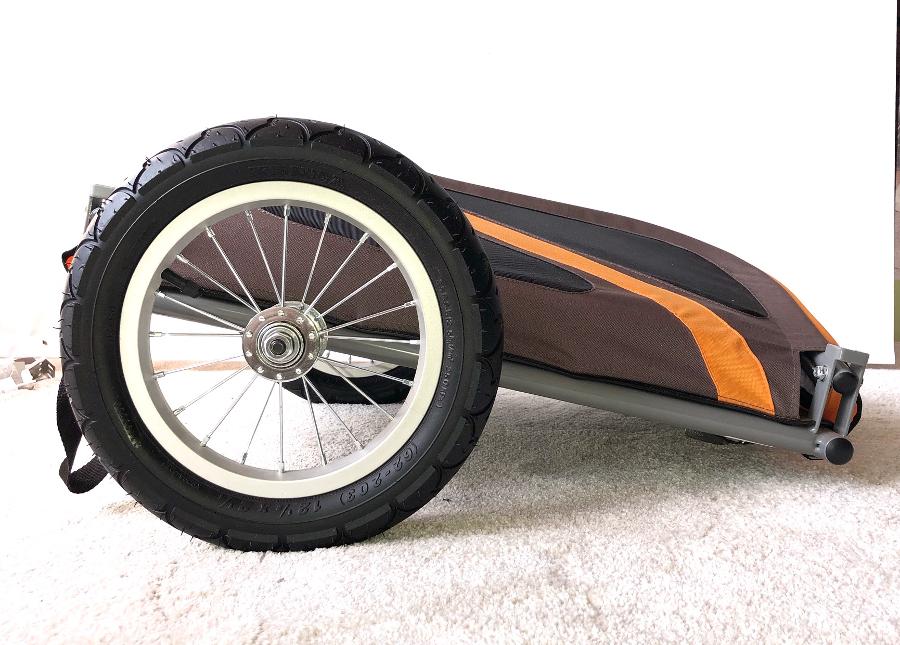 Malý vozík za kolo pro psy - půjčovna