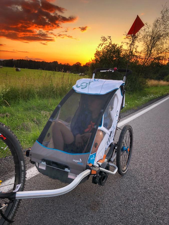 Leggero Enso Bílý -největší vozík za kolo