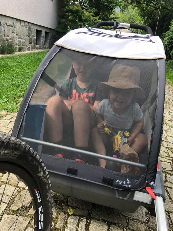 Leggero Vento nejvyšší vozík za kolo