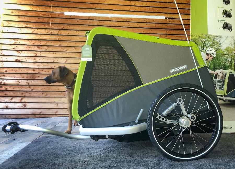 Odpružený vozík za kolo pro psa Croozer Dog Jokke XL Plus