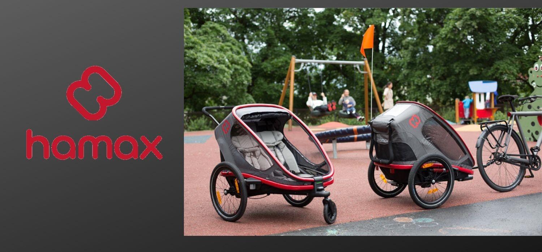 Hamax - vozíky za kolo norské značky HAMAX