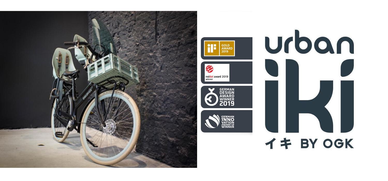 Japonské cyklo sedačky navržené holandskými designéri