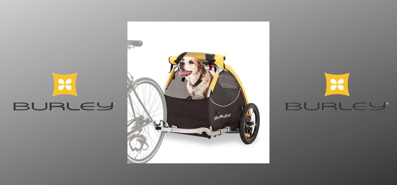 Vozíky za kolo pro děti, psy i náklad americké značky Burley